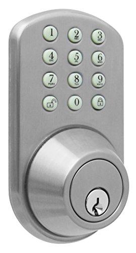 MiLocks TF-02SN Digital Deadbolt Door Lock with Electronic Keypad for...