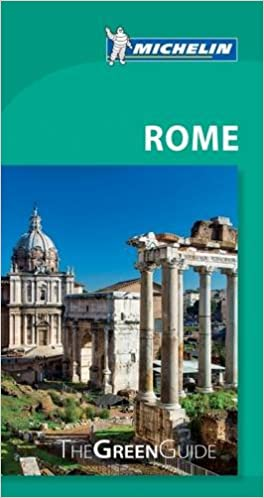 ;TOP; Michelin Green Guide Rome. Viajar Steel Contact Monitor horas