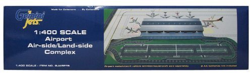 Gemini Jets Airport Air-side Land-side Complex 1/400 Scale GJARPTB by Gemini Jets