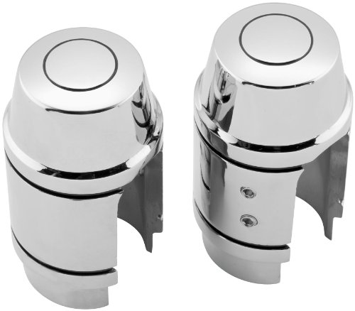 93-99 HARLEY FXDWG: Biker's Choice Shock Absorber Stud Covers (Chrome) ()