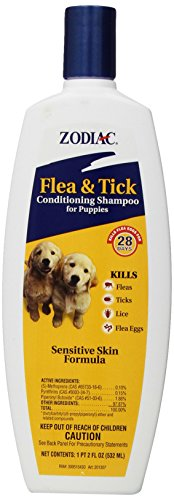 Zodiac Flea & Tick Conditioning Shampoo for Puppies, 18-ounce