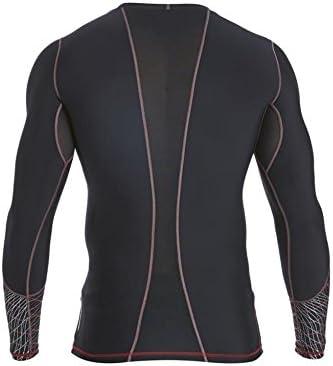 Canterbury Hybrid Compression LS T shirt de compression homme