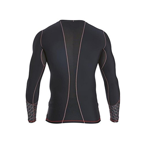 Canterbury Mercury TCR Compression Long Sleeve Top - Large - Black by Canterbury (Image #2)