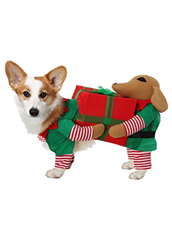 Santa's Little Helper Dog Costume (Santa Costumes Dog)
