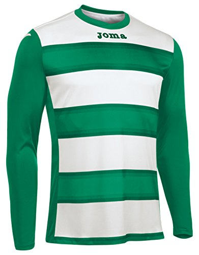 Joma Europe III T-Shirt Long Sleeve, Man, Men, Europa III, Royal/White, L