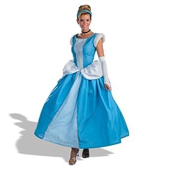 sc 1 st  Amazon.com & Amazon.com: Prestige Adult Cinderella Costume: Clothing