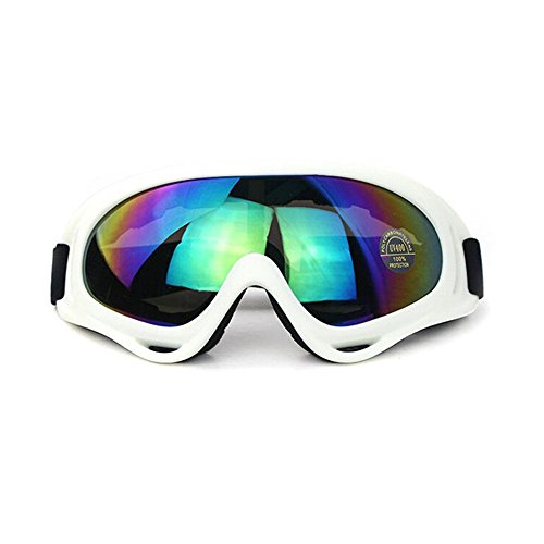 Aphse Snowboard Ski Goggles Sunglasses Eyewear Adjustable UV Protective Portable Motorcycle Goggles Eyewear Dust-proof Protective Combat Goggles Play Games Protective - Combat Eyewear