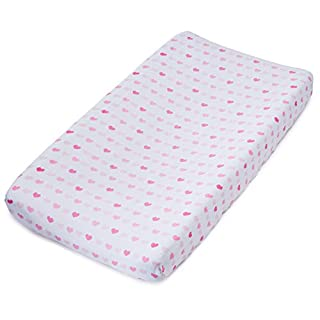 Ideal Baby ideal baby changing pad cover; kitty love (bunny)