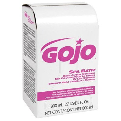 Soap & Shampoo - 800ml spa bath body & hair shampoo [Set of 12]