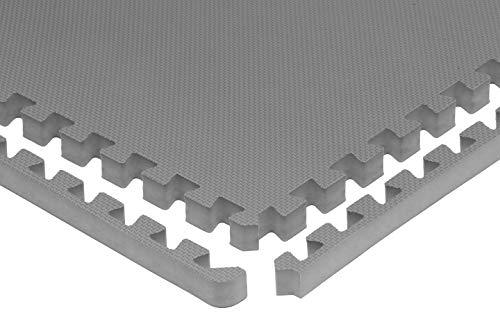 """Prosource Fit Extra Puzzle Exercise 1"""", EVA Interlocking for Protective, Flooring Home and Gym"""