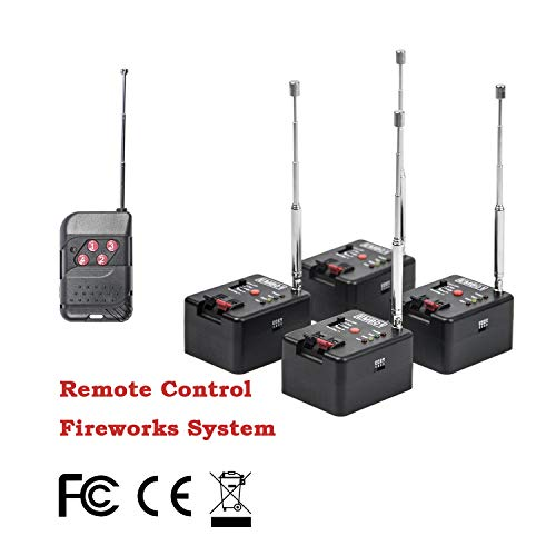 System Firing - 4 Cue Remote Wireless Control Fire-Work Firing Systemand Wedding Equipment EMB01-04R