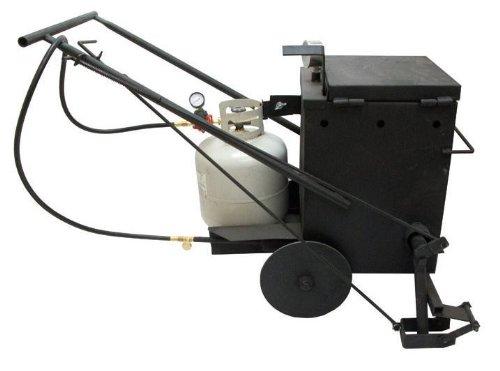 Portable Asphalt Direct Melter and Applicator