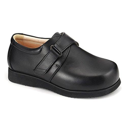 Lace 9E Emey 504 Mens Therapeutic Triple Depth Boots: Black 5 XXX-Wide Apis Mt