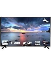 HKC 50F2: 127 cm (50 inch) LED-tv (Full-HD, Triple Tuner (DVB-C/-S2/-T2), CI +, mediaspeler USB 2.0)