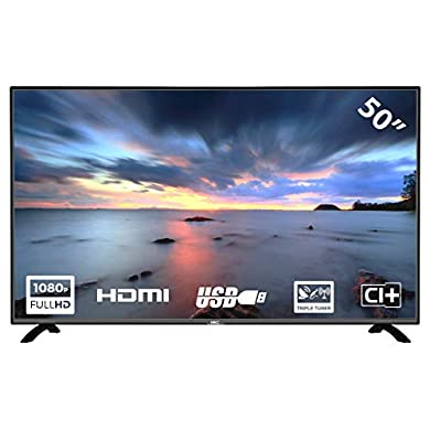 HKC 50F2 TV 50 Pulgadas Full-HD TV Triple Tuner (DVB-T/T2/S/S2/C) a buen precio
