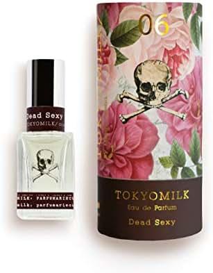 Tokyomilk Dead Sexy No. 06 Parfum | Margot Elena's Romantic Ethereal Deep Vanilla, Exotic Wood, White Orchid Ebony Perfume, 1 fl oz Spray