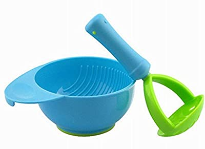 Practical Baby Food Grinding Bowl For Making Homemade Baby Food, Blue by Black Temptation that we recomend individually.