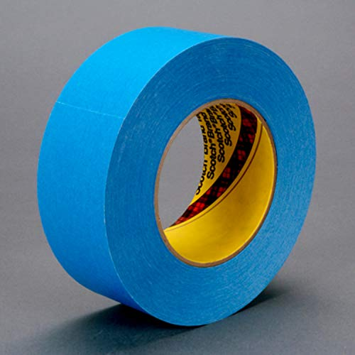 (3M 17580-case Repulpable Strong Single Coated Tape R3187, 36 mm x 55 m, Blue (Pack of 24))