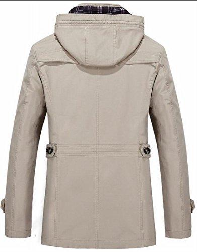 Brd Hooded Zip Up Baseball Coat Jacket Windbreaker Hot Classic Trench Men's UK 2 Bwnxaz