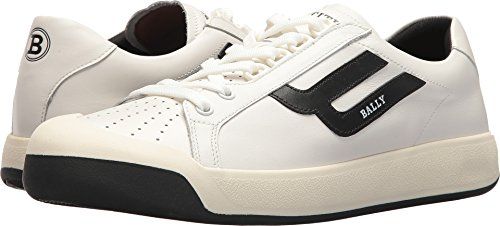 Bally Mens New Competition Retro Sneaker White