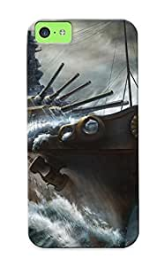 meilinF000New Kashi Takahisa Ships Cruiser Baleship Art Military Tpu Case Cover, Anti-scratch Dkzzkr-6408-oravjen Phone Case For iphone 6 4.7 inch With DesignmeilinF000