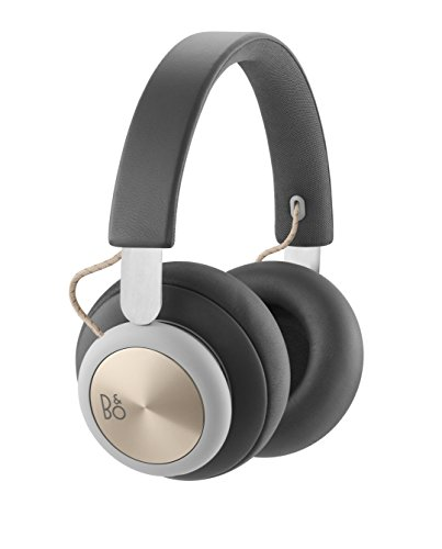 B&O PLAY by Bang & Olufsen Beoplay H4 Wireless Over-Ear Headphones, Bluetooth 4.2 (Charcoal Gray)