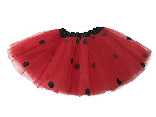Rush Dance Superhero Halloween Girls DressUp Princess Fairy Costume Recital Tutu (Spiderman) ()