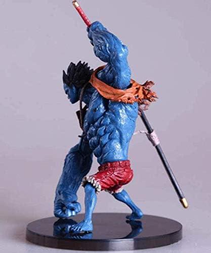 N / A Figur Modell Freund Geschenk Geschenk DIY Anime Spielzeug Pc-gehäuse Sammlerstück Figur Sammlerstück Nightmare Ruffy PVC Collection Modell Ca. 15 cm Erwachsene Und Fans