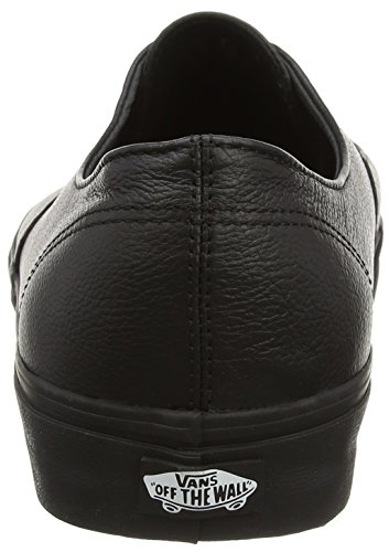 Basses Black Mixte Noir Baskets Leather Authentic Vans Decon Black Premium Adulte FtqgHgw