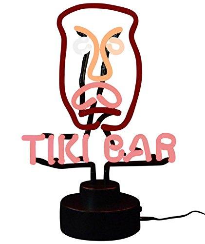 (Tiki Bar Neon Sculpture)