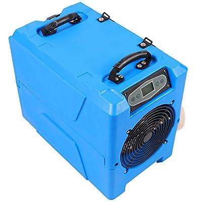 .com - MOUNTO 80Pints Commercial Roto-Mold Compact Crawl Space Basement Dehumidifier with Pump -