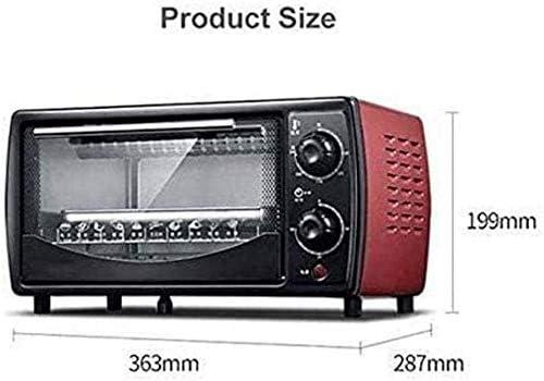 Máquina de cocer el pan del horno 12L Horno eléctrico deliciosos y versátiles ingredientes varios dulces a tostadas, frutas y hortalizas frescas