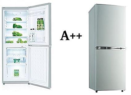 kg 218.4 a + + Diseño nevera/congelador frigorífico Plata nevera ...
