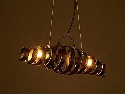 Ciffost kronleuchter retro bar eisen lampe modern und