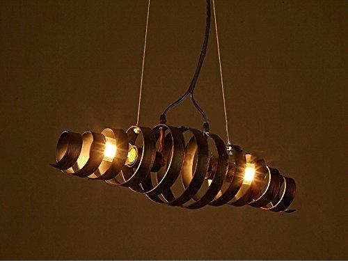 Plafoniere E Lampadari Moderni : Ciffost®lampadari retro bar in ferro lampada stile moderno e
