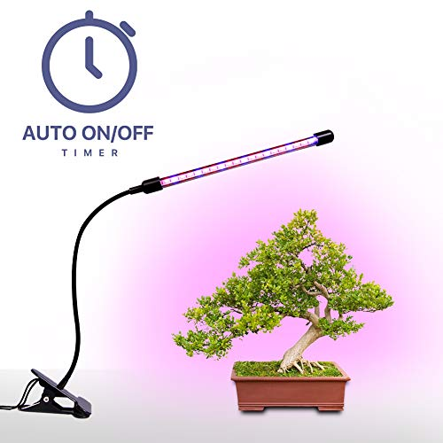 Plant Grow Lamp, Megulla LED Grow Light Bars with Dimmer and Timer(3/9/12H), Free USB Adapter(5V2A) Included, for Indoor Plants, Greenhouse, Vegetables, Herbs and Potted Plants For Sale
