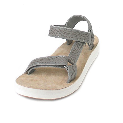 Teva Midform Universal Geometric Women's Walking Sandals - SS18 Brown Beige