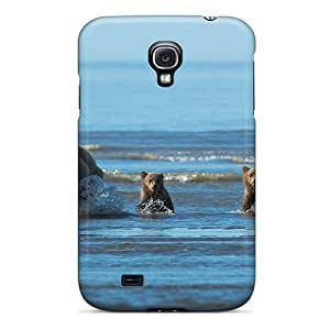 Hot Design Premium YERFmpx13282RovBr Tpu Case Cover Galaxy S4 Protection Case(mother With Three Children)