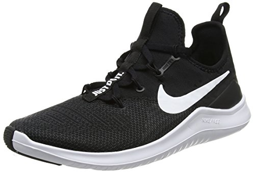 Nike Womens Free TR 8 Running Shoes Black/White 7.5 B(M) US