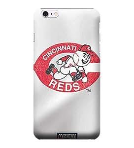 iPhone 6 plus 5.5 Cases, MLB - Cincinnati Reds - Cooperstown Distressed - iPhone 6 plus 5.5 Cases - High Quality PC Case