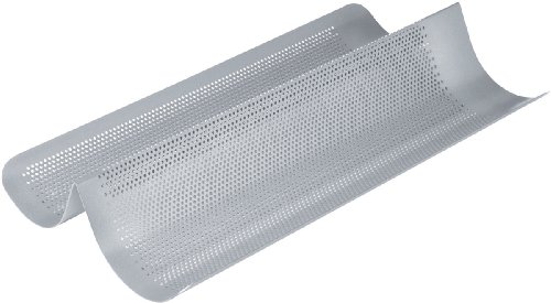 Chicago Metallic Commercial II Non-Stick Perforated French Bread Pan (Loaf Commercial Pan)