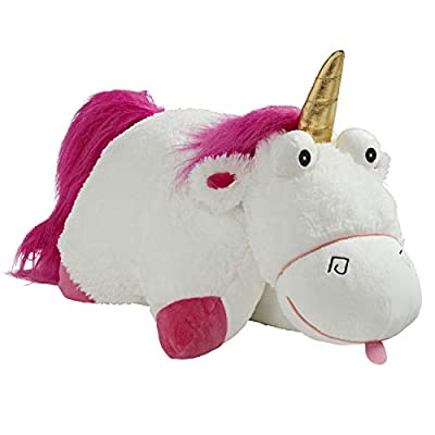 Pillow Pets NBC Universal Despicable Me Fluffy The Unicorn Stuffed Animal - 16