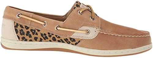 Us Women's Boat 5 Koifish Shoe Linen Cheetah Sperry 7 M zRqxwdqF