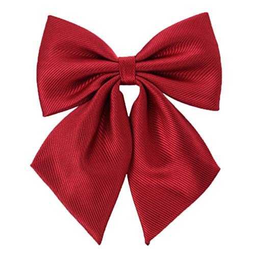 Womens Japanese Lolita Uniform Embroidery Handmade Bowties (one size, red)CA114K ()