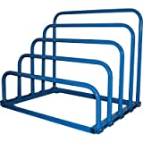 Vestil Variable Height Sheet Rack — 47in.W x 36in.D x 40in.H, 4 Bays, Bolted, Model# VHSR-4B