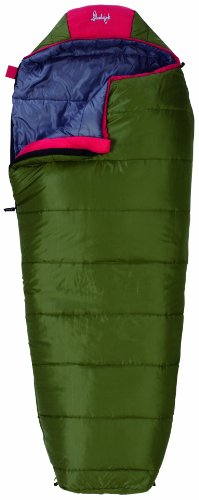 Slumberjack Big Scout 30 Degree Youth Synthetic Sleeping Bag, Outdoor Stuffs