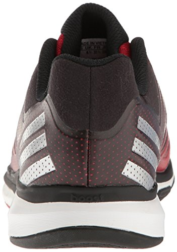 adidas Performance Damen Volley Response 2 Boost W Volleyballschuh Power Rot / Metallic Silber / Schwarz