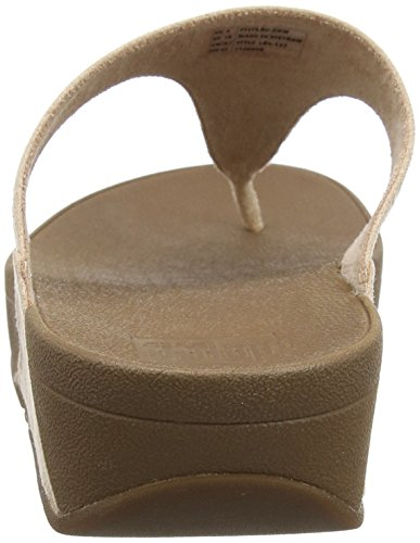 Fitflop Incastone Toe-Thong Sandals, Sandalias con Punta Abierta para Mujer beige (carne)