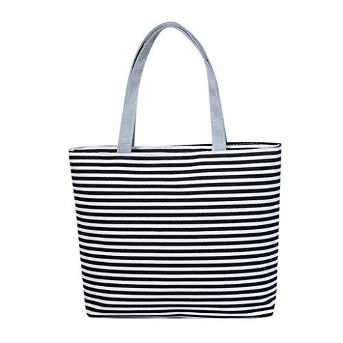 WFeieig Women Leisure Canvas Handbag Messenger Bags Prints Sustainable Living Eco Friendly Shopping Bag