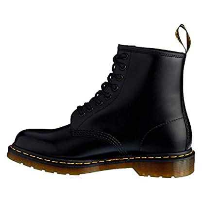 Womens Dr Martens 1460's Black Leather Ankle Boots SIZE 5 2